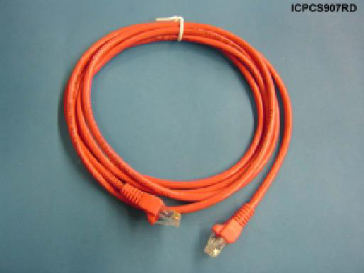 Liberty PCE5B007RD 7ft CAT 5E Patch Cable, Red
