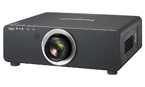 Panasonic PT-DW740ULK 7000lm WXGA Dual Lamp Black DLP Projector (Lens Not Included)