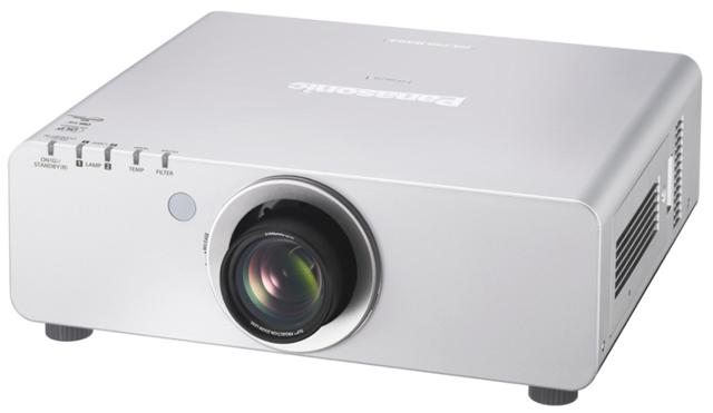 Panasonic PT-DW7407000lm WXGA Dual Lamp DLP Projector DICOM Simulation Mode