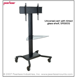 Peerless SR560G SmartMount Flat Panel Cart