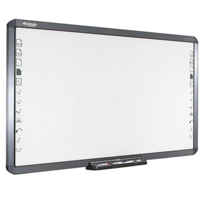 QOMO 100inch Infrared Interactive Whiteboard with Erasable Surface and Dual Touch