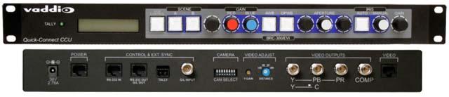 High Resolution Pan/Tilt/Zoom Camera Control Unit, NTSC Standard