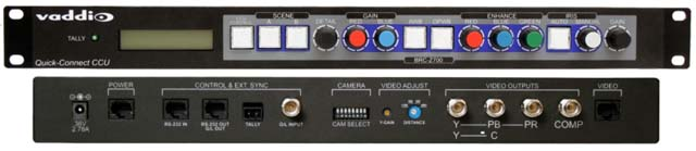 Vaddio 998-6807-000 HD Pan/Tilt/Zoom Camera Control Unit