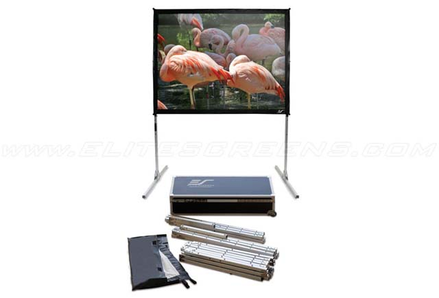 Portable Projection Screen, 180 Inch Diagonal