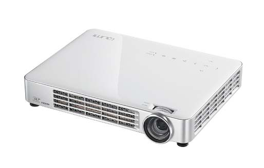Vivitek Qumi Q7 HD 720p 800 Lumen LED Pocket Projector - White