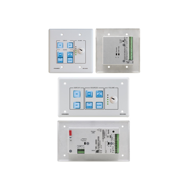 6-Button Room Controller with Digital Volume Control & Printed Group Labels