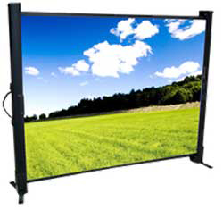 Recordex USA 40in. MicroLite Portable Tabletop Projector Screen (24 x 32in.)