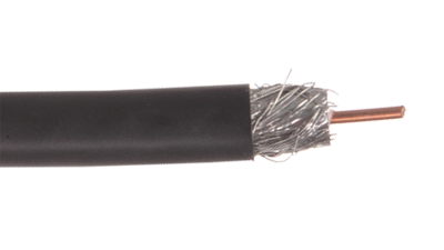 Liberty RG6-P-CATV-WHT RG6 CCS 3GHZ CMP Rated Coaxial Cable, White