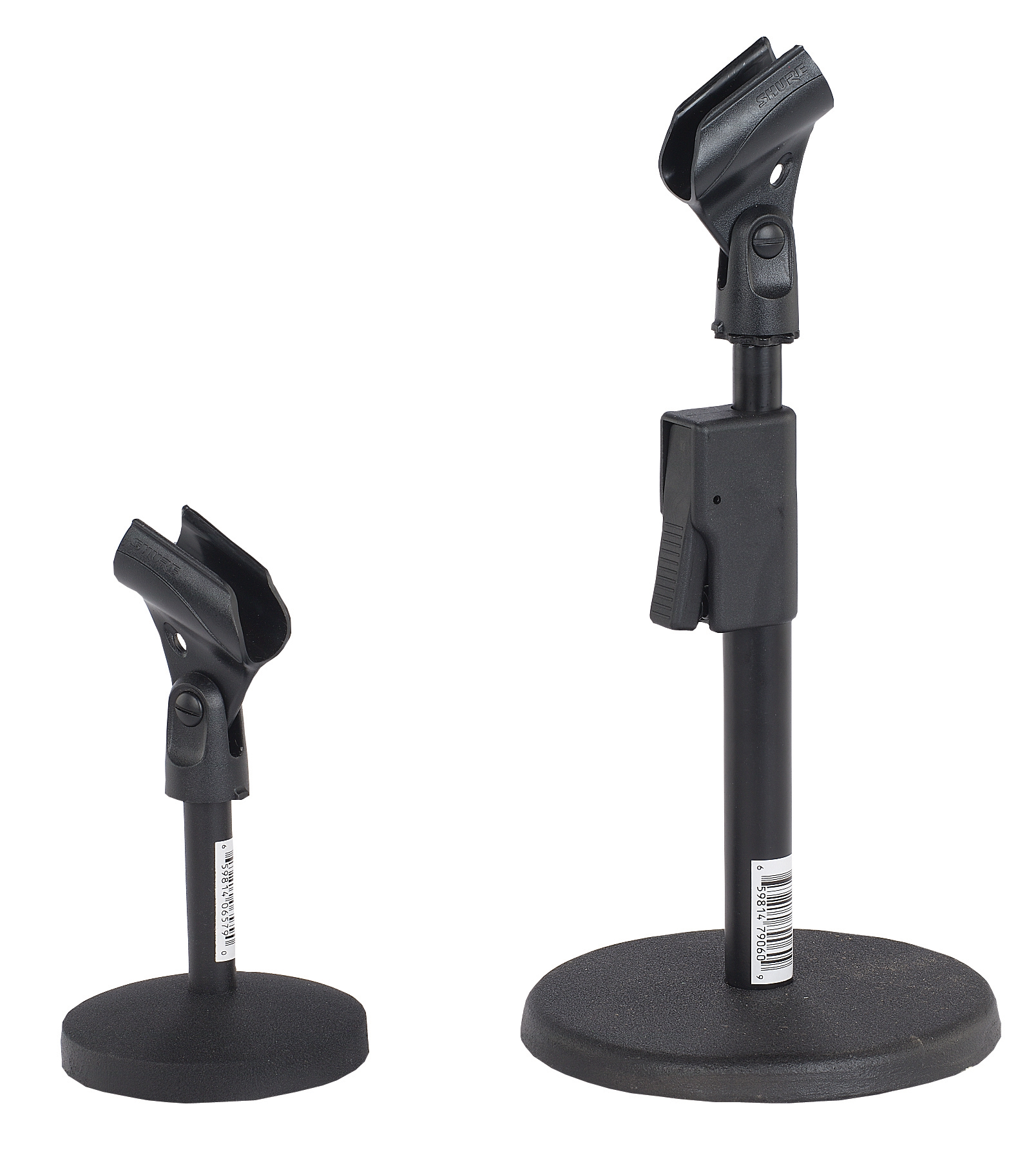 AmpliVox S1075 Quik-Release Adjustable Desk Mic Stand