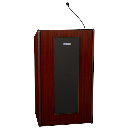 AmpliVox Sound Systems Presidential Plus Lectern System (Mahogany)