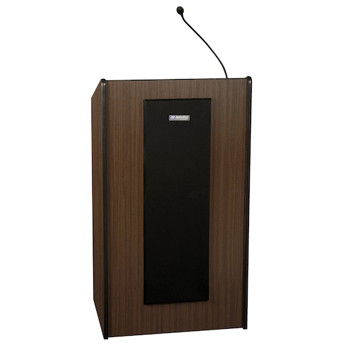 AmpliVox Sound Systems Presidential Plus Lectern System (Medium Oak)