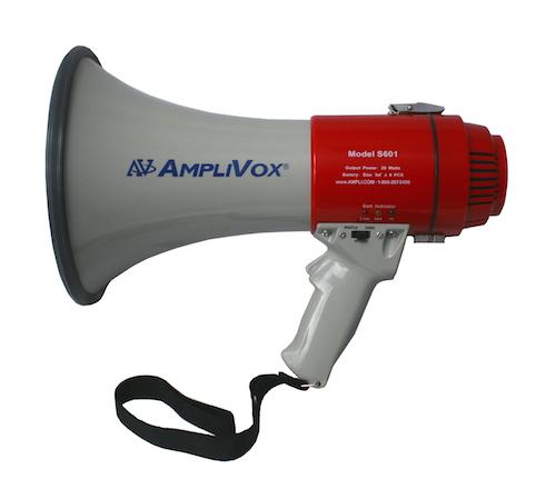 AmpliVox Sound Systems S601 Piezo Dynamic Megaphone