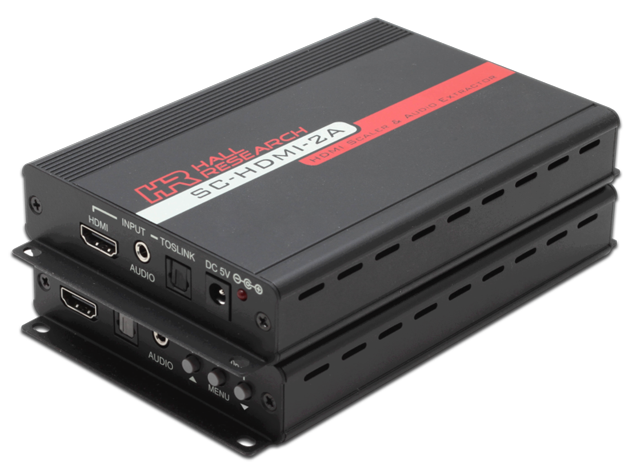 Hall Research SC-HDMI-2A HDMI Scaler and Audio Extractor