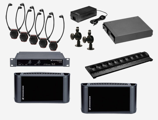 Sennheiser SI1015-4000DUAL Dual Channel/Stereo Infrared System, 4000 sq ft