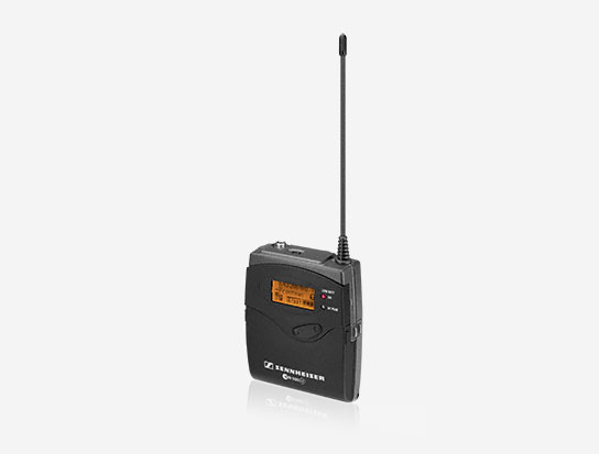 Sennheiser SK500G3-B Wireless Audio Bodypack Transmitter, 626-668MHz