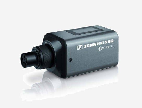 Sennheiser SKP300G3-G Plug-on Transmitter, 48V Phantom Power, 566-608MHz RF