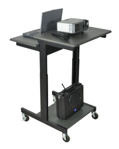 Amplivox SN3380 Mobile Computer Desk