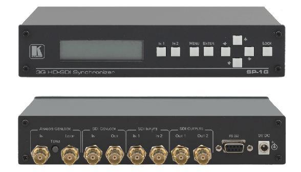 Kramer SP-1G 3G HD-SDI Frame Buffer/Synchronizer