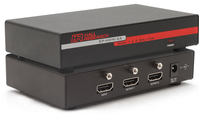 Hall Research SP-HDMI-2A 1 x 2 HDMI Video Splitter