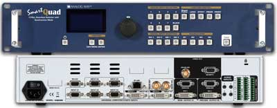 Analog Way SQD200 Smart Quad: Hi-Res. Seamless Switcher, Quadravision Mode