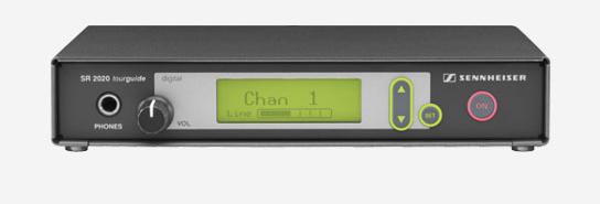 Sennheiser SR2020-D-US Rack-mountable Transmitter (926 - 928 MHz)