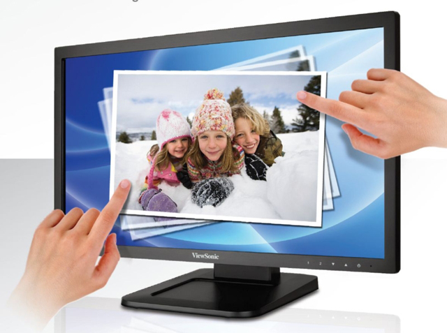Viewsonic TD2220 22in Full HD 1080p Optical Touch Monitor