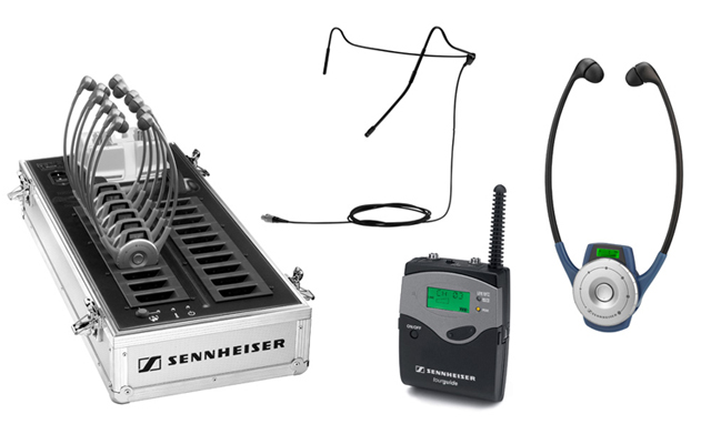 RF Wireless Bodypack Audio Tour Guide System