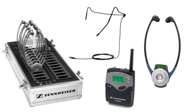Sennheiser TG2020-20BODYPACKSYS RF Wireless Bodypack Audio Tour Guide System