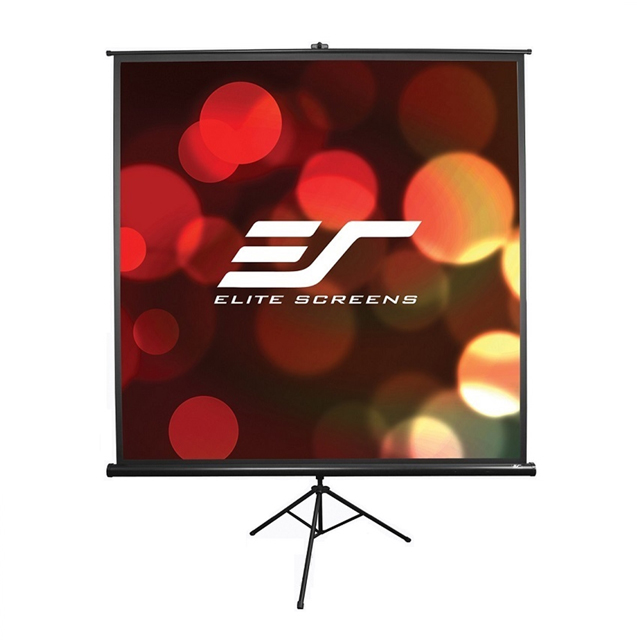 Elite Screens T100UWH Tripod Series Projector Screen - 16:9 - 100in. Diagonal