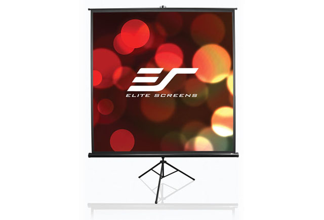 Elite Tripod Series 84in. Portable Projector Screen (MaxWhite) 4:3