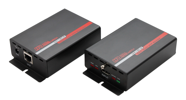 HDMI on Single UTP Extender with HDBaseT-Lite Sender and Receiver Unit