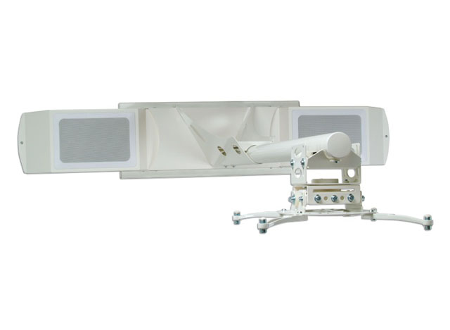 Premier Mounts UNI-EPDS-AUD Short-Throw Projector Arm w/ Extension & Audio