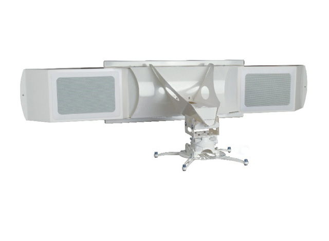 Premier Mounts UNI-UPDS-AUD Universal Short-Throw Projector Arm with Audio