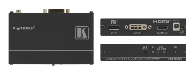 DisplayPort to DVI/HDMI Format Converter