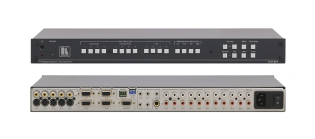 Kramer VP-27 (12-Input) Multi-Format Presentation Switcher