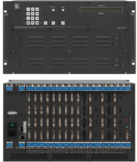 4x4 to 32x32 Modular Multi-Format Digital Matrix Switcher