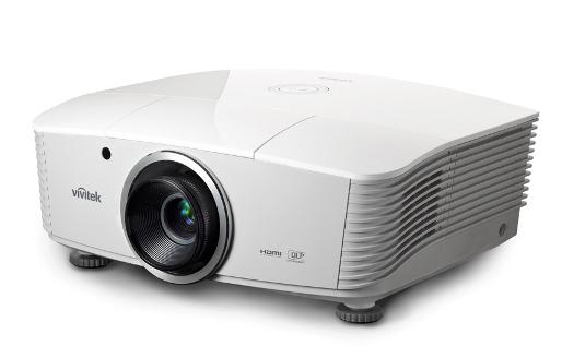 Vivitek D5010WNL 6000lm XGA 6000lm Installation Projector Lens Not Included