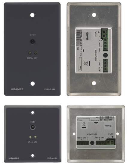 Active Wall Plate - Infrared Repeater