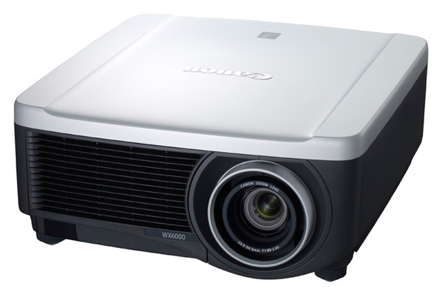 Canon REALiS WX6000 WXGA+ (1440 x 900) Projector with RS-­IL01ST Standard Lens