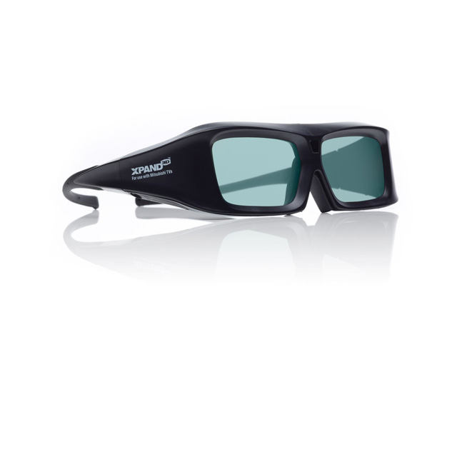 Sharp X102 Universal 3D Active Shutter Glasses