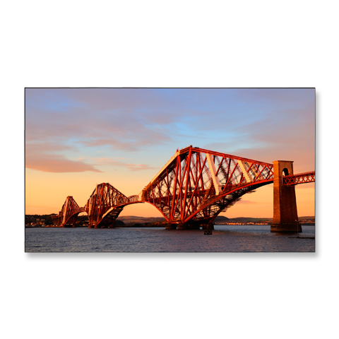 46-inch LED-Backlit, Ultra-Narrow Professional-Grade Large-Screen Display