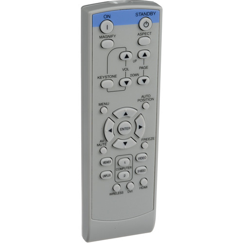 Mitsubishi XL30REM Projector Remote Control for XL30U, XL25, SL25, XD300, XD35