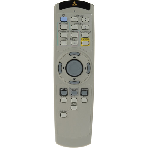 Mitsubishi XL5950REM Projector Remote Control for XL5950LU and XL5950U