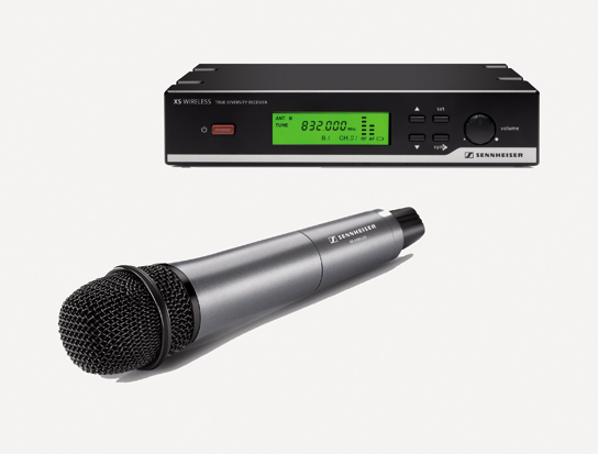 Sennheiser XSW 35 Vocal Set - B Vocal Set, 614 to 638MHz Frequency Range