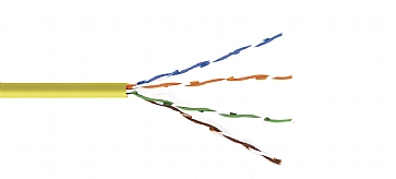 Kramer BC-6SLD-1000RD Cat 6 Solid Core Un-Shielded, 1000ft - Red