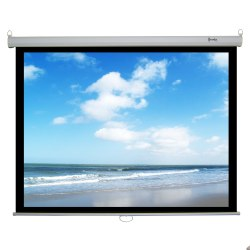 Recordex 120in. ReTract Plus Premium Manual Projector Screen (72 x 96in.)