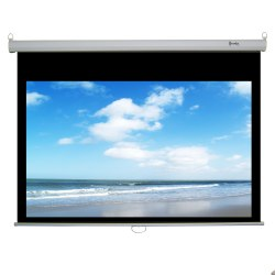 Recordex 94in. ReTract Plus Premium Manual Projector Screen (50 x 80in.)