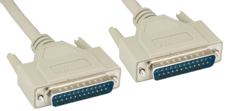 Comprehensive 1284MM-6ST IEEE-1284 DB25 To DB25 Cable 6ft
