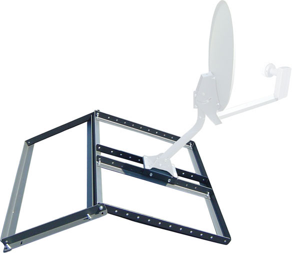 VMP Non-Penetrating Pitched Roof Satellite/Antenna Mount