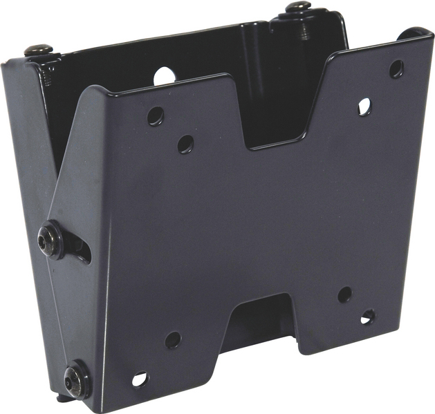 Video Mount Products FP-SFT Small Flat Panel Flush Mount w/ Tilt (Black)